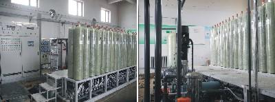 吉林省白城市垃圾填埋场DTRO系统
